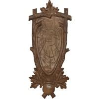 Поставка с дърворезба за трофей от благороден елен