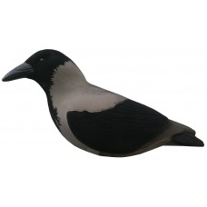 Final Approach Hooded Crow Decoy -Flocked