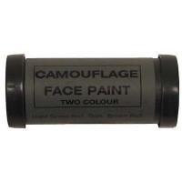 Маскировъчна боя за лице зелен/кафяв