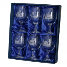 Fritzmann Crystal glasses in a gift box - 6 pcs.