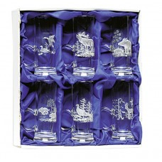 Fritzmann Schnapps glasses in a gift box