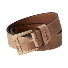 Harkila Arvak leather belt dark sand