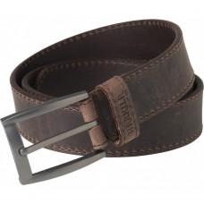 Harkila Arvak leather belt - deep brown