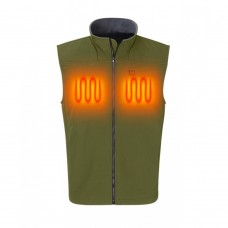 Nordic Heat Softshell vest green