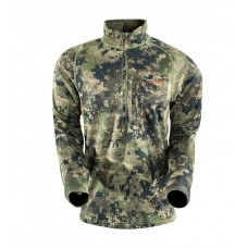 Sitka Core Midweight Zip-T Ground Forest