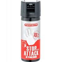 Спрей за самозащита Perfecta Stop Attack Pepper Extreme - 50 мл.